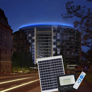 High Quality 120W Solar Powered Panel Led Light control Flood Lights floodlight Garden outdoor Street light wall lamp