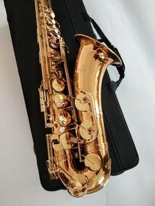 professionale New Japan marca Yanagisawa T-902 Tenor Bb Tenor Saxophone Playing elettroforesi oro Sax tenore con boccaglio