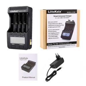 LiitoKala LII-LII-PD4 PL4 LII-LII-402 18,350 500 26,650 10,440 14,500 16,340 NiMH 배터리 충전기 18650 스마트 충전기