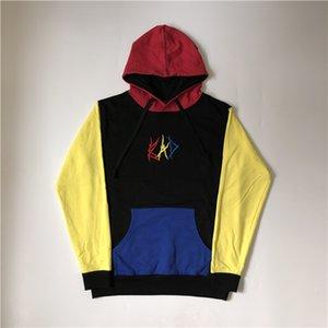 Color Fashion Hoodies Stitching Mens S-XL Bad High XXXTENTACION Hoodie Street Revenge Loose Brand Sweatshirt Designer Wanpp