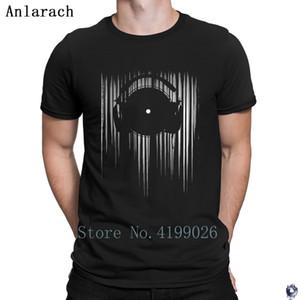 Vinyl magliette comode del cotone degli Costumi Anlarach maschile HipHop Top eccentrico familiari 2018
