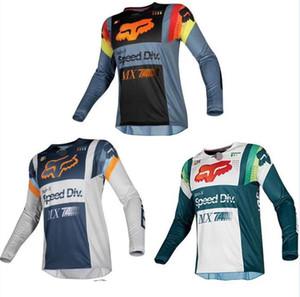 2020 FOX الجديد على الطرق الوعرة ملابس ركوب مقاومة للاهتراء المضادة للسقوط خدمة الدراجة الجبلية انخفاض سرعة دراجة طويلة الأكمام