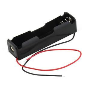 (6) 단일 한 플라스틱 배터리 저장 케이스 상자 홀더 X 18650 1 * 18650 Bateria 블랙