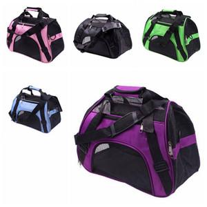 Portador de mascotas Portátil Mascotas Mochila Cat Dog Carrier Bags Transpirable Pequeño Bolso del animal doméstico del perrito al aire libre Paquetes de viaje Pet Supplies CLS604