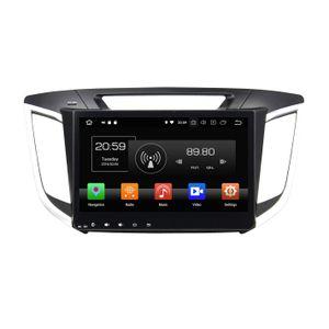 """Android 8.0 Octa Core 2 din 10.1 """"DVD de voiture GPS pour Hyundai IX25 Creta 2014 2015 2016 RDS Radio Bluetooth WIFI USB 4 Go de RAM 32 Go de ROM"""