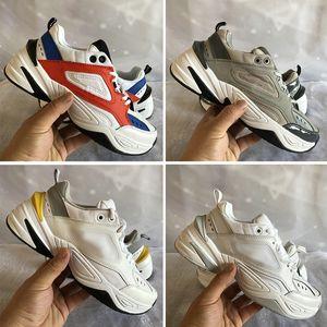 M2K Tekno Chunky papá zapatos deportivos de alta calidad tinte platino ambiente universitario Rojo gris de color caqui negro zapatillas de deporte del diseñador mujeres de los hombres de lujo