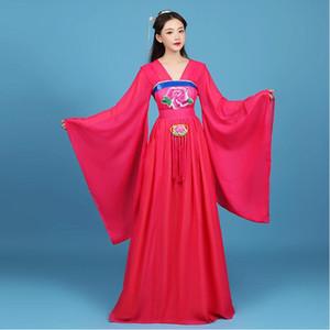 Chinois fée vêtements Dynastie des Tang princesse costume antique Royal hanfu femelle TV film performance impériale impératrice usage d'étape