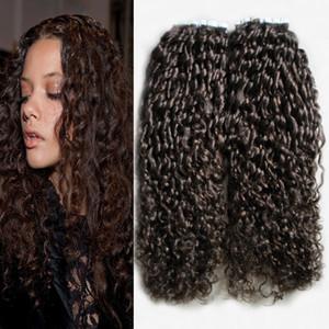 İnsan Saç Uzantıları yılında bant 100g afro kinky kıvırcık Bant Saç Uzantıları Yapışkan Bant Remy İnsan Saç 40 adet