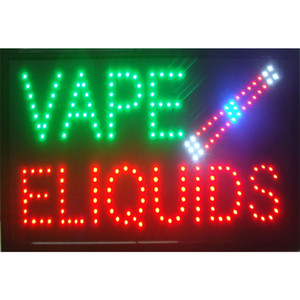 Светодиодный дыма вывеска магазина для бизнес - Неоновый дым Vape магазин e-жидкости вывески магазинов - бизнеса для магазина знак, решетка для дым магазин, сигарный магазин