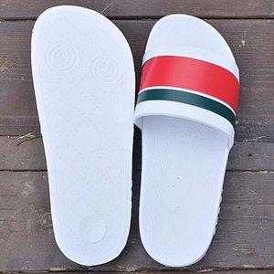PANTOUFLE Hombres Mujeres Moda Zapatillas marca de diseño de verano para los zapatos de las señoras de diapositivas g Playa sandalias al aire libre Online