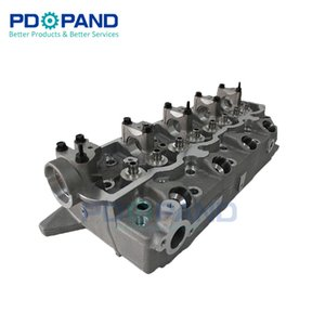 Motor parçaları Mitsubishi Pajero Montero L200 L300 L400 Shogun Strada Galant 2.5L 4D55 4D56T dizel motoru için çıplak silindir kafası