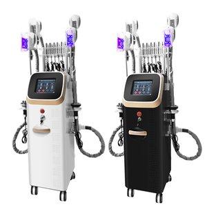 Cryolipolysis cavitation machine body slimming RF Laser beauty equipment cool shaping machine 4 handles cryolipolysis machine