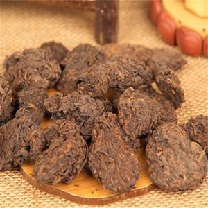 200g olgun puer çay gevşek yaşlı siyah puerh çay bloğu organik doğal puer en yaşlı ağaç pişmiş puerh yeşil gıda tercih edildi