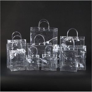 Новая мода ПВХ Женщины Clear Bag Tote Прозрачный дизайн Cosmetic плеча Hangbags хранения сумки для стадиона Work Approved