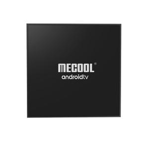 Mecool KM9 برو كلاسيكي جوجل مصدق التحكم الصوتي الروبوت التلفزيون مربع Adnroid 9.0 2G 16G 4K HDR الذكية ميديا بلاير
