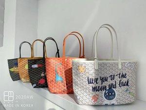 Brand New Goyarrd Goyar GY Designer Qualitäts-klassische Emo weibliche Beutel Graffiti Umhängetasche mit großer Kapazität Handtaschentotalisator Beutel Freies Verschiffen