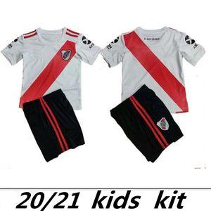 ENFANTS kit maison 2019 maison jersey de football River Plate 2020 20 Pratto Fernandez Palacios Scocco chemises de football LIBERTADORES QUINTERO