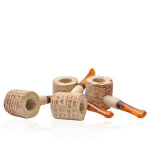 Creativo mini pipe naturale pannocchia monouso mano tubo Fit Viaggi Fumo accessori nuovo disegno 1 1PN E1
