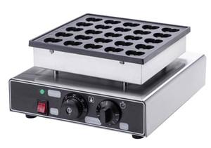 Free shipping 110V 220V Electric 25 holes Heart shaped Mini Pancakes Machine Pancake Iron