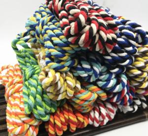 Alta qualidade 5meters Dia.6mm 3stands Cotton Rope tecidas à mão corda Binding agrupamento de algodão decorativa