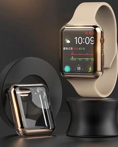 Revestimiento del caso para Apple Seguir 5 4 Caso 44mm / 40mm iWatch Band 42mm 38 mm Todo alrededor de la cubierta del protector de parachoques de Apple del reloj 3 2 1 Accesorios