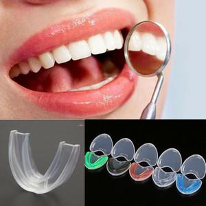 Notte protezione di bocca Per Serrare i denti la frantumazione dentale Bite silicone aiuti di sonno Staffa Denti