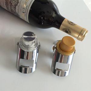 E1 5JZ Paslanmaz Çelik Champagne Şişe Stopper Can Tutanak Zaman Silikon Vakum Harf Kırmızı Şarap Tıpalar Bar Aksesuarları 5