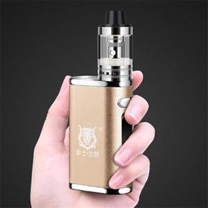NUOVO arrivo Box Mod Start Kit 80W 2000mAh batteria build-in E Cig Smoke vaporizzatore Hookah Shisha Pen LED sigaretta elettronica Vape