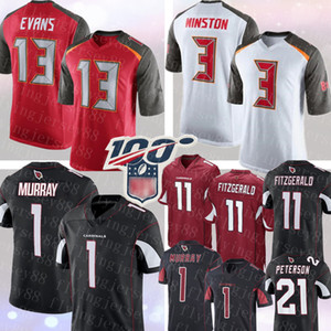 13 Mike Evans Tampa Bay # mens 3 Buccaneer Winston Jersey 1 Jameis Kyler Murray Arizona # Cardinal 11 Larry Fitzgerald Patrick Peterson