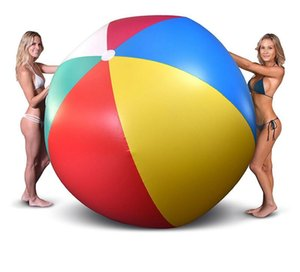 200cm 80inch Inflatable Beach Pool Toys Water Ball Summer Sport Play Toy Balloon Outdoors Play In The Water Beach Ball Fun Gift