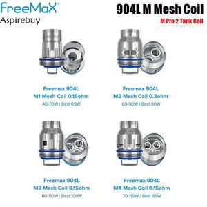 GebührAls M Pro 2 Tank Coil GebührAls 904L M Mesh-Spule M1 / M2 / M3 / M4 Spule 3pcs / Satz für GebührAls Maxus 200W Authentic