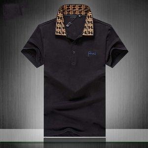 Luxus-Europa Paris Patchwork Männer-T-Shirt-Mode-Männer Entwurf Shirt Casual Men Kleidung Meduse Cotton Tee Luxus-Polo