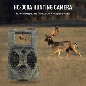Фото Ловушка оленя Охота Trail камеры 12MP 1080P камеры ночного видения Цифровой ИК Камеры видеонаблюдения HC300A