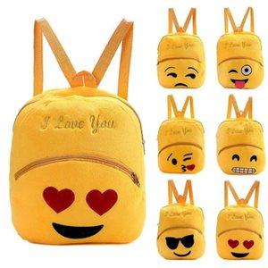 Sac à dos Designer- femmes Nouveau belle bande dessinée 6 style Emoji visage Cute Girl Mini Satchel Imprimer Enfants Emoticon école Sacs à bandoulière Bolsa 2017
