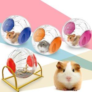 Hamster играть в мяче Маленьких животных круглого Pet игрушка PP подарки мышь игры Практической Running Упражнение Обучение Hamster Запуск шарик