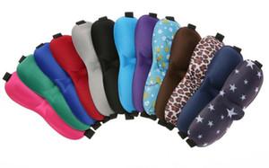 3D Sleep Mask Padded Shade Cover Travel Relax Blindfolds Eye Cover Sleeping Mask Eye Care Beauty Tools