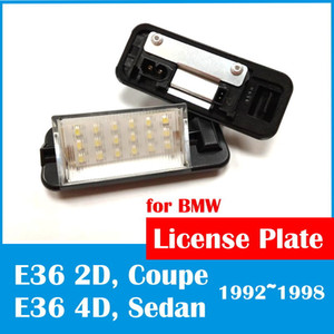 SD MOTOR Free shipping on sale LED license plate lamp for 3 series E36 E36 318 320 323 325 328 M3 1991 1997