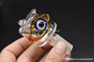 Wholesale New Arrival Colorful Eye 14mm 18mm Male Glass tobacco bowl for smoking water tobacco pipe bowl for water oil rig bong