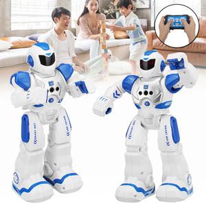 Rc Robot Intelligent Télécommande Intelligente Robot Jouets Robot Humanoïde Bipède Pour Enfants Éducatifs Pour Enfants Jouet Cadeau D'anniversaire T190622
