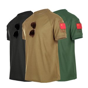 Men Camping Trekking Fishing Climbing Army Tactical Quick Dry T-Shirt Female Summer Fast Dry Pullerover Oversize Tees
