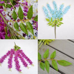 Yapay Sahte İpek Leylak Çiçek Bitki Buket Düğün Ev Bahçe Oturma Odası 2pcs