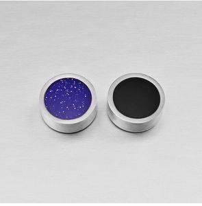 2020 Titan Stahl zweifarbige frei Ohrlocheisen Saugwirkung Ohr Magnet Ohrringe paar Trend ein Geschenk der Liebe Clip
