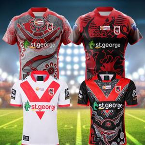 Yeni 2020 2021 ST GEORGE Illawarra EJDERLERİ NRL Dokuzlar Jersey Hatıra Yerli Rugby Formalar Şortlar NRL Rugby Ligi Formalar