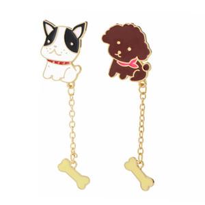 dom tendência ossos de cachorro personalidade de pelúcia cadeia decorações bonito broche especial criativa nova para crianças pins