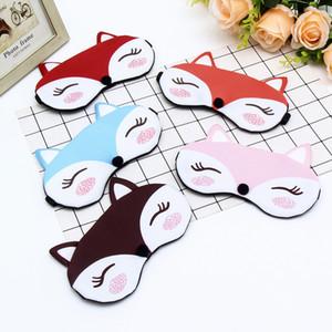 Karikatür Gözler Gözbağı Shades Parti Maskeler Relax Seyahat için Maske Göz Kapağı Sleeping siperliği Sevimli Kız Hediyeleri Hayvanlar Maske