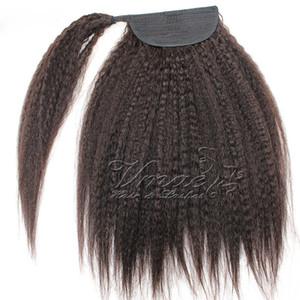 Бразильская кутикула, выровненная по 100 г 120 г коготь клип в странный прямой хвостик Девственные заколки для волос хвощ обернуть вокруг хвоста человеческих волос