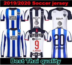 Trouver similaires maillots de football Rayados Special Edition Monterrey 2019 Club de la Coupe du Monde 2020 Rodolfo Pizarro Maximiliano Meza manches longues footbal