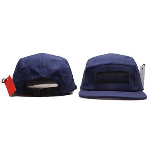 Nouveaux Casquettes 5 panneau chapeaux ajustable Super Strapback Snap Hon Casual Hommes Femmes Ss Baseball Cap Camo Top Qualité