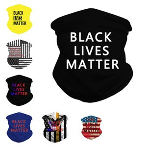 2020 Multifunctional magic headscarf Black lives matter dustproof Outdoor riding mask Party Supplies party mask T2I51029
