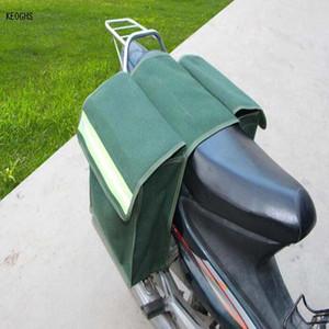 유니버설 캔버스 방수 방음 오토바이 가방 안장 가방 안장 가방 오토바이 안장 가방 무료 배송